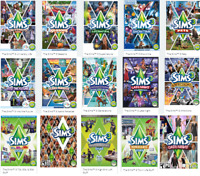 The Sims 3 Expansions Origin Code/CD KEY PC/MAC Origin Keys