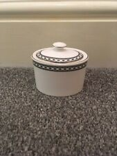 Wedgwood Contrasts Lidded Sugar Bowl - Made in England