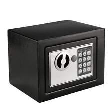 MINISAFE Wandtresor Wandsafe Geldschrank elektronisch 22,5x16,5x16,5cmschwarz