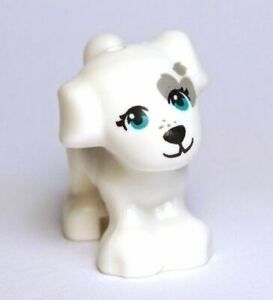 LEGO Animal Dog Friends Puppy Dog with Grey Patch (Cookie)