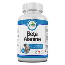 Beta Alanine Pre Workout Energy Endurance Lean Muscle Mass Pre Work Out x 120
