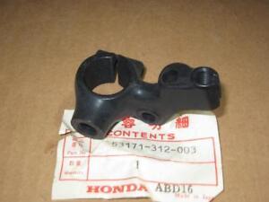 HONDA NOS - RT. HANDLEBAR BRACKET - CR- CT- MR- MT- SL- XL- XR - 53171-312-003