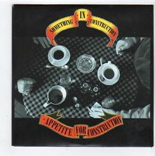 (FQ853) Something In Construction, Appetite For Construction - 2006 DJ CD