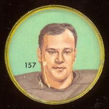 1963 CFL NALLEY'S POTATO CHIP FOOTBALL SP COIN #157 LONNIE DENNIS B C LIONS VGEX