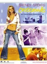 CROSSROADS Movie POSTER 27x40 B Britney Spears Taryn Manning Zoe Saldana Anson