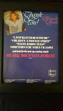 Sammi Smith I Just Want To Be With You Rare Original Promo Poster Ad Framed!