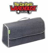 Large Boot Luggage Organiser / Storage / Travel / Case Ideal Boot tidy Carpet