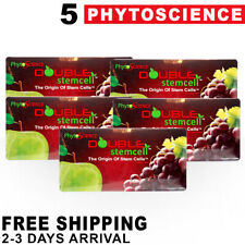 5 Phytoscience Double Stemcell - Free Express Shipping Stem Cell Exp07/2020
