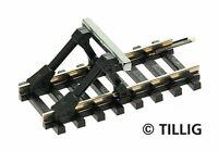 Tillig 83100 Prellbock mit Gleisstück gerade 41,5mm  in TT Fabrikneu
