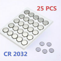 Lots 25pcs CR2032 CR 2032 3 Volt Button Cell Battery for Watch Toys Remote Sets-