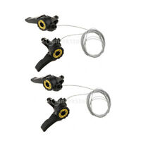 Premium Bike Thumb Shifter Lever 15S/18S/21S Bicycle Rear Derailleur Cable