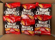Wheat Crunchies Spicy Tomato 30 Bag Mega Box Bargain. Free p&p.