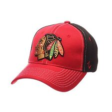 Chicago Blackhawks Zephyr Rally 2 NHL Structured Mesh Flex Fit Hat size M/L