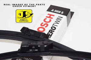 ASTON MARTIN DB9 DBS NEW BOSCH A089S Aerotwin Front Wiper Blades Set