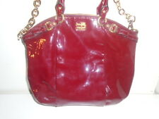 roots- AUTH.  2010 COACH X TWO RED SHOULDER BAGS -AVAIL TOTAL COACH LINE JOB LOT