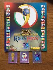 Panini World Cup 2002 Korea Japan Empty Album + Intro Stickers