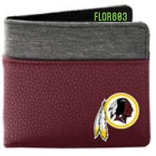 Washington Redskins NFL Bi-Fold Pebble Wallet