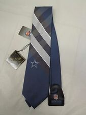 9c46e67201de Dallas Cowboys Grid Neck Tie Eagles Wings NFL Football Necktie and Pendant