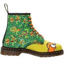 New Dr. Martens Mikey 8-eye leather boots Teenage Mutant Ninja Turtles UK 3