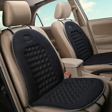 Universal Car Seat Cover Black Massage Health Cushion Winter Warmer Protector