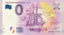 Billet Touristique 0 Euro --- Zeilschip Mercator, Oostende -  2018-1