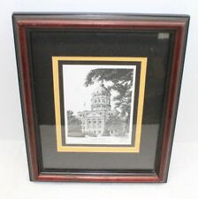 John Stoeckley Signed Print Jesse Hall University Of Missouri Framed Print #1