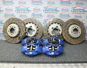 BMW M3 M4 F80 F82 F83 2014-2019 Brake Discs Calipers & Pads 19k miles    15/1