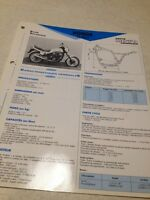 Honda VT500E-D VT500 VT 500 PC11 83 Fiche technique moto RMT ETAI