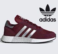 🔥 2019 Adidas Originals MARATHON X 5923  ® ( Men Sizes UK: 7 - 12 ) Burgundy