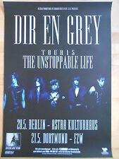 DIR EN GREY 2015 TOUR  -  orig.Concert-Konzert-Poster-Plakat NEU