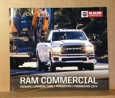 2020 Ram Commercial Pickups, Chassis Cabs,& Promaster City Trucks Broshure