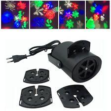 LED Snowflake Projecteur Noël Lampe de décoration paysage intérieur/Extérieur FR