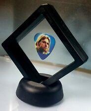 Kurt Cobain Guitar Pick Display Nirvana Framed Rock Band Novelty Gift Present