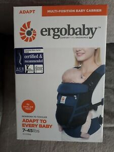 Ergobaby Baby Carrier for Newborn to Toddler, Cool Air Raven 3.2 - 20kgs
