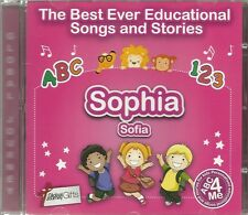THE BEST EVER EDUCATIONAL SONGS & STORIES PERSONALISED CD - SOPHIA / SOFIA