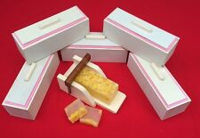 5 Wooden Wood Soap Molds with Silicone Liners and 1 Soap Cutter box, Combo set