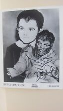 "Butch Patrick ""Eddie"" On The Munsters Signed Photo Autograph"
