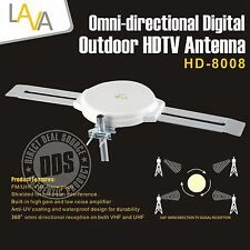 LAVA HD-8008 OmniPro HD8008 Indoor Outdoor Analog Omni-Directional HD TV Antenna