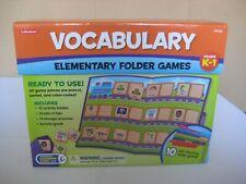 LAKESHORE Vocabulary Folder Games ~ Grade :  K - Gr. 1