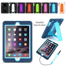 HEAVY DUTY Kids Tough Case Rugged Hard Protective Cover for iPad 2 3 4 Air Mini
