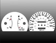 1990-1991 Honda Civic NON TACH Dash Cluster White Face Gauges 90-91