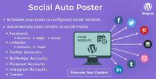 Social Auto Poster ✅ Wordpress Plugin 💻 Latest Version (2020) 🔥🔥