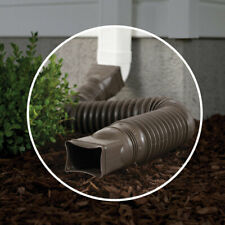 Amerimax  25.5  L x 3 in. W x 4.5 in. H Plastic  Brown  Downspout Extension