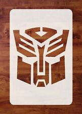 Mylar Transformers Stencil, Autobot Stencil, Painting, Airbrushing FREE SHIPPING