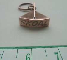 "SKOAL METAL LID CUTTER FOR KEY CHAIN COPPER COLOR ""NEW/UNUSED"""