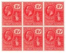 (I.B) British Virgin Islands Postal : 1½d Venetian Red