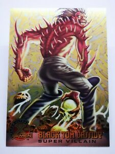 Fleer ultra 1995 DC Comics B8 carte card marvel x-men holo #60 Black Tom Cassidy