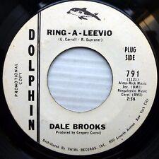 DALE BROOKS mod dancer promo 45 RING A LEEVIO b/w Somewhere Somehow Someday J30