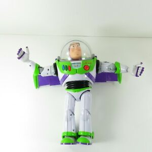 Disney Pixar Toy Story Buzz Lightyear Talking Action Figure Thinkway TESTED