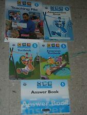 NHM NEW HEINEMANN MATHS 5th Grade 5 Teaching File+Textbook+Assessment+Answer Boo